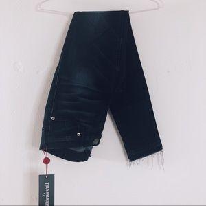 True Religion Casey Fringe Jeans